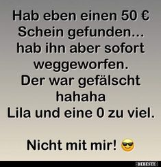 Just found a € 50 bill .-Hab eben einen Schein gefunden… Just found a € 50 bill … - Memes Humor, Dad Humor, Humor Texts, Walmart Humor, Hobbies For Kids, Hobbies To Try, Funny Friday Memes, Friday Humor, Funny School Pictures