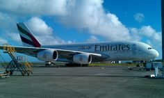 A380 @ Auckland airport