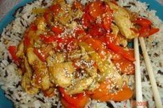 Wok, Pinterest Recipes, Carne, Broccoli, Meals, Chicken, Homemade Food, Meal, Yemek