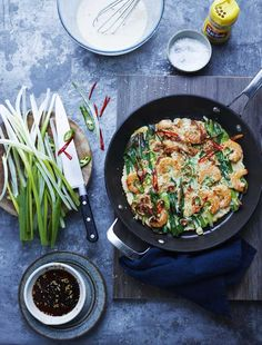 A simple Korean recipe and made with succulent seafood and spring onions, this Korean Seafood Pancake with Spring Onions is a great speedy supper. Read More