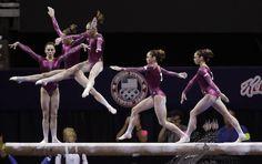 MyKayla Maroney - Olympic trials slow motion