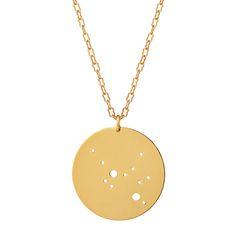 GOLD ASTROLOGY NECKLACE | gold horoscope, zodiac jewelry | UncommonGoods