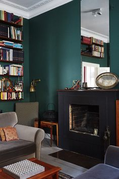 Rich, bold wall colors. Yes, you can paint every... | Design Meet Style