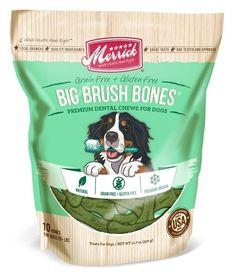 Merrick Dental Bones - Big Brush 11.7 Oz Pouch