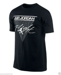 MEN'S SIZE XL NIKE AIR JORDAN FLIGHT T-SHIRT BLACK BASKETBALL JUMP MAN TEE NWT