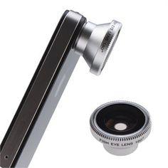 Fisheye Lens for iPhone ... I love iPhone gadgets.