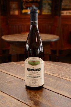 Palmer Vineyards, White Riesling 2013 (bought on our North Fork trip with Kim & Josh for my birthday November 2014)