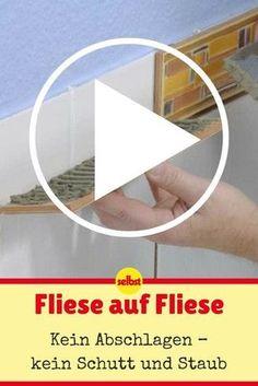 Putz Auf Fliesen VideoAnleitungen Pinterest - Fliesen verputzen video