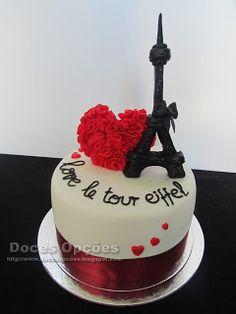 Doces Opções: Love le tour Eiffel