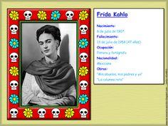 Me encanta escribir en español: Ficha de identidad de personalidades para el Día de los Muertos.