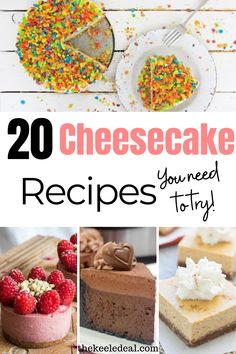 20 Cheesecake Recipes You need to try! Everything from no-bake cheesecake to cheesecake stuffed pancakes. No Bake Cheesecake, Cheesecake Recipes, Dessert Recipes, Desserts, Thanksgiving Crafts, Family Christmas, Raisin, Summer Recipes, Food Hacks