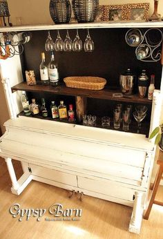 re purposed piano, diy, how to, painted furniture, repurposing upcycling