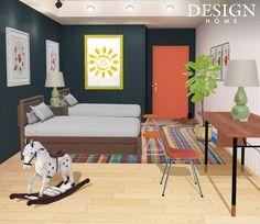 Design Home App, House Design, Holiday Break, Floor Chair, Toddler Bed, Flooring, Carmel Indiana, Furniture, Rooms
