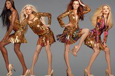 ナオミ・キャンベルらスーパーモデルが登場!ロベルト カヴァリのゴージャスな2012年春夏イメージビジュアル