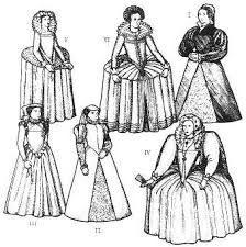 elizabethan era clothing - Google Search