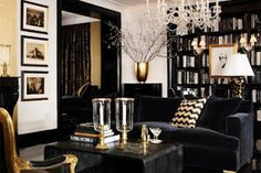 Glam Living Room Decor There are various design trends to pick from in regards to ideas for living room dAcor. Regardless of what style design your house is, there are various living room decorating ideas to select from. Masculine Living Rooms, Glam Living Room, Living Room Furniture, Living Room Decor, Bedroom Decor, Couch Furniture, Deco Furniture, Decor Room, Dining Rooms