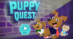 "Puppies!!!!!!! Agents? Puppies? Puppies? Agents? Play the ODD SQUAD ""Puppy Quest"" game on the official website to add some ODD-mazing adorableness to your day.http://pbskids.org/oddsquad/games/odd-squad-puppies/index.html"