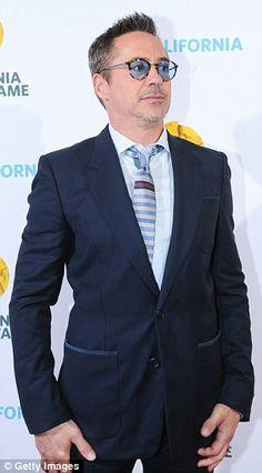 Robert Downey Jr -- California Hall of Fame -- Oct. 28 2015