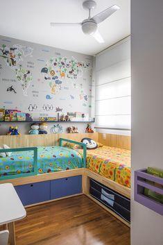 Kids Bed Design, Kids Bedroom Designs, Bunk Bed Designs, Boys Bedroom Decor, Baby Bedroom, Girls Bedroom, House Beds For Kids, Kid Beds, Big Boy Bedrooms