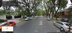 Buenos Aires Google Street View 02 Calle Melian, en el barrio de Belgrano