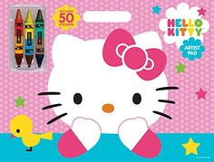 Bendon Publishing Hello Kitty Artist Pad with DoubleEnded Crayons * Visit the image link more details. Note:It is affiliate link to Amazon.