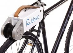 The Rubbee is an ingenious device allowing anyone with a conventional bike the opportunity to easily repurpose and experience all the benefits of an electric bike in literally minutes.