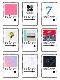 Pegatina ''Códigos De álbumes BTS' De TheQueuingLife En Pop Stickers, Kawaii Stickers, Printable Stickers, Beste Iphone Wallpaper, Bts Wallpaper, Journal Stickers, Scrapbook Stickers, Bts Polaroid, Bts Book