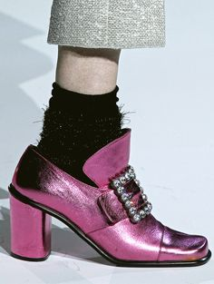 Marc Jacobs F/W 2012 my grandmother had a pair of these from the Unique Fashion, Love Fashion, Fashion Shoes, Womens Fashion, Funky Shoes, Crazy Shoes, Sock Shoes, Shoe Boots, Tap Shoes