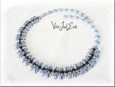 collier Kenora bleu noir