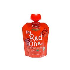 Ellas Kitchen Organic Smoothie Fruits The Red One 3Ounce Pouches Pack of 7  Value Bulk Multipack >>> To view further for this item, visit the image link.