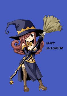 Erza #Halloween                                                                                                                                                                                 Mais