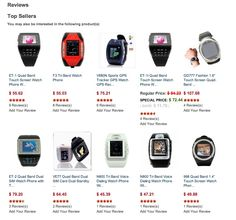 The best-selling Smart Watches in China. There are dozens of Chinese #smartwatch clones on the market today, plus some really unique offerings not found anywhere else.