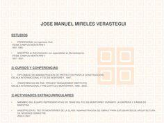 José Manuel Mireles Verástegui by Josemanuelmexico via slideshare