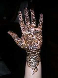 Black Mehndi: Here are 10 amazing Black Mehandi designs just for you.