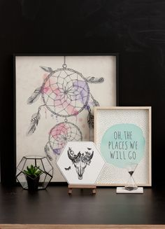 Get framed. Set up at-home gallery spaces to inspire. Typo Shop, Pretty Room, Decorate Your Room, Humble Abode, Bedroom Decor, Teen Bedroom, Bedrooms, Cool Gifts, Interior And Exterior