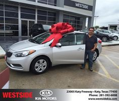 https://flic.kr/p/R1GueA | #HappyBirthday to Juan from Orlando Baez at Westside Kia! | deliverymaxx.com/DealerReviews.aspx?DealerCode=WSJL