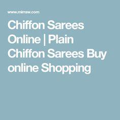 Chiffon Sarees Online   Plain Chiffon Sarees Buy online Shopping