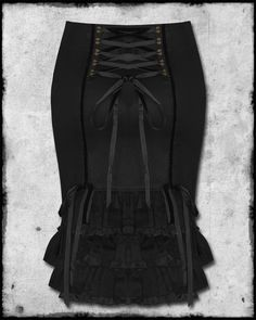 I do quite like some of the steampunk fashion. // steampunk skirts | Spin Doctor Black Copper Cassius Steampunk Pencil Skirt | eBay