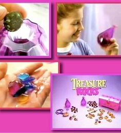 Treasure rocks. I forgot about this, it was awesome!