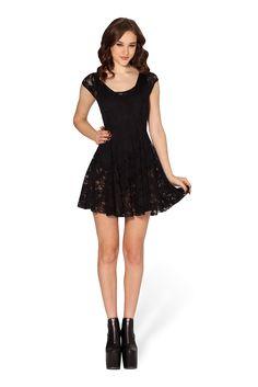 Evil Cheerleader Lace Dress 2.0 – Black Milk Clothing