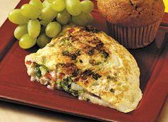 AllWhites and Better'n Eggs: Fresh Veggie AllWhites® Omelet Recipe no butter or asapagus for me