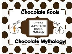 """Affixes are in Common Core K-8.  """"Chocolate Roots"""" is a great way to introduce or review the concept of roots. Students use the word CHOCOLATE and add a prefix/suffix/root to alter the meaning.  The kids of all ages will have a BLAST with words like """"chocolatology-the science of chocolate!"""" Download today-implent tomorrow!!!"""