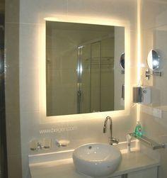 Graceful Bagen Illuminated Mirror