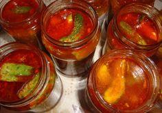 Ogórki po meksykańsku zaprawione do słoików Pickles, Cucumber, Salsa, Jar, Food, Essen, Salsa Music, Meals, Pickle