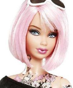 画像は、現在世界中のドールマニア及びバービーマニアを中心に話題の的となっている、米国で10月6日先行発売されたばかりの従来には無かった過激な、タトゥー入りバービー人形の一部始終だwwwナΣ┏|゚д゚*…