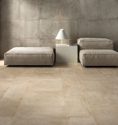 Porcelain stoneware wall/floor tiles ONE CEMENT By Ceramiche Caesar Ceramica Exterior, Exterior Solutions, Old Stone Houses, Italian Tiles, Wall And Floor Tiles, House Tiles, Wall Tile, Concrete Tiles, Floor Design