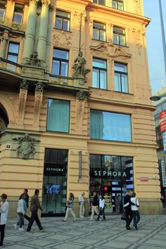 #Sephora Prague I had to buy all new makeup here when they lost my bag.