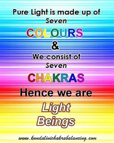 we are light beings