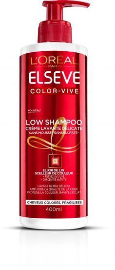 L'Oréal Paris Low Shampoo Color Vive – Crème Lavante Délicate