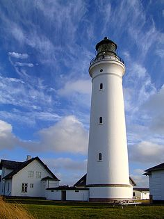 Hirtshals Lighthouse, West Coast of Jutland, Denmark